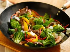 wok med rodfrugter